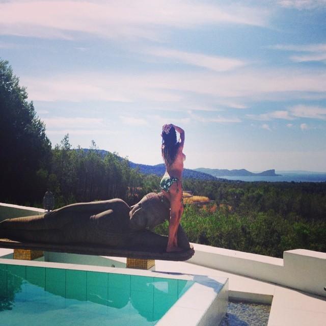 Nackt bei Instagram: Für Boris: Lilly Becker zeigt ihren
