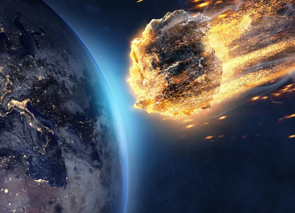 Asteroid Rh6 Mit Nasa Warnung Kein Entrinnen 44 Tonnen Asteroid