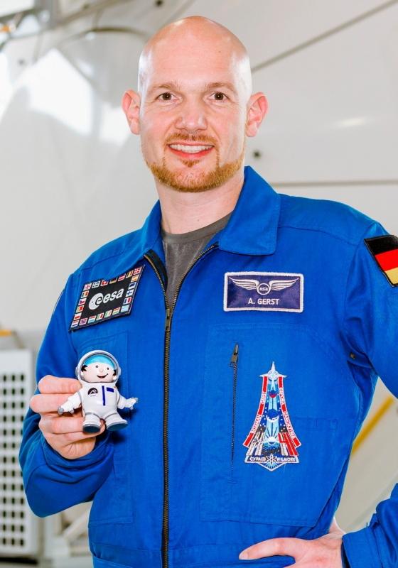 Alexander Gerst Freundin