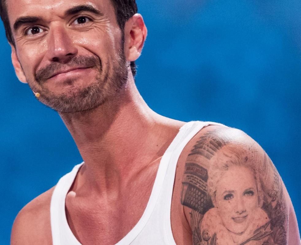 Florian Silbereisen Neues Tattoo