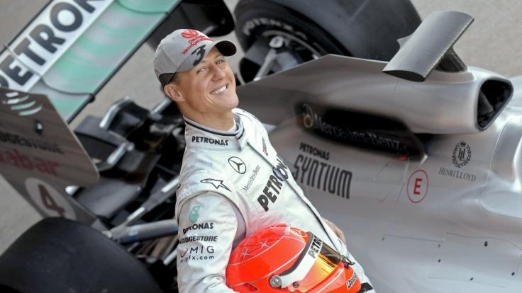 Formel-1-Fans halten das Andenken an Michael Schumacher auch Jahre nach seiner aktiven Rennsportkarriere in Ehren. (Foto)