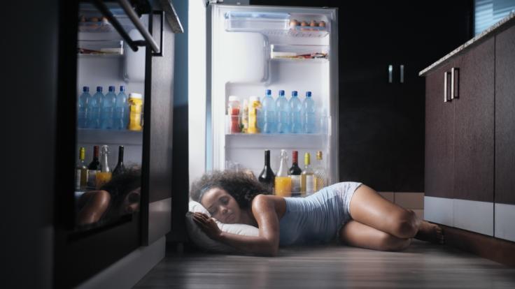 Schlafen bei Hitze ist eine Qual.