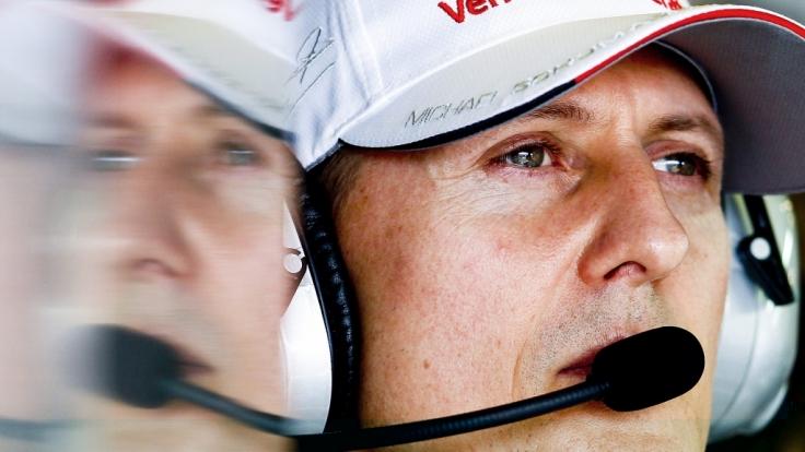 Michael Schumacher fuhr 2004 seinen siebten Formel-1-Weltmeistertitel ein - 15 Jahre später sorgte sein Sohn Mick Schumacher für einen Gänsehautmoment, der Erinnerungen wachrief.