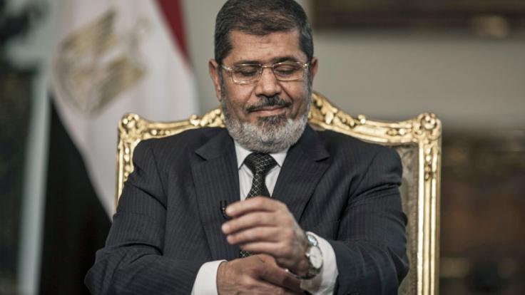 Mohammed Mursi, der damalige Präsident von Ägyptens, ist tot.