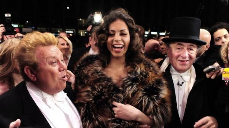 Der Glanz vergangener Tage: 2011 war Zachi Noy (l.) zu Gast beim Wiener Opernball. (Foto)