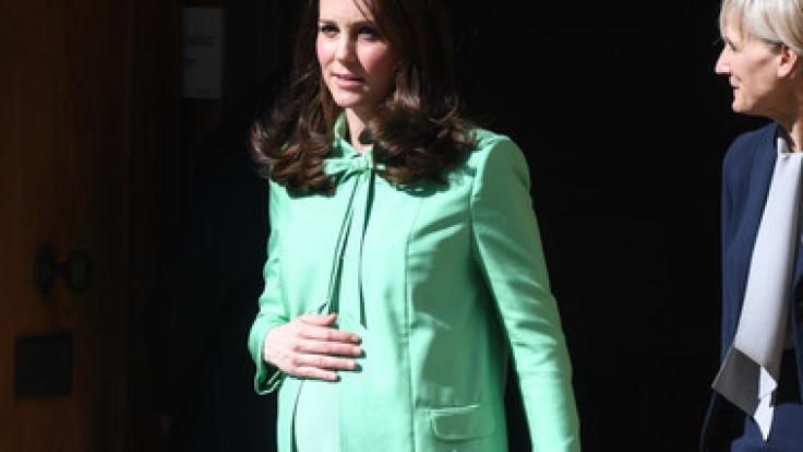 Der Baby-Countdown läuft: In Kürze erwartet Kate Middleton ihr drittes Kind.