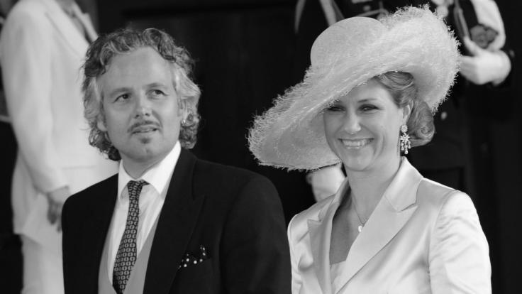 Ein Bild aus glücklichen Tagen: Ari Behn und Prinzessin Märtha Louise im Jahr 2012.