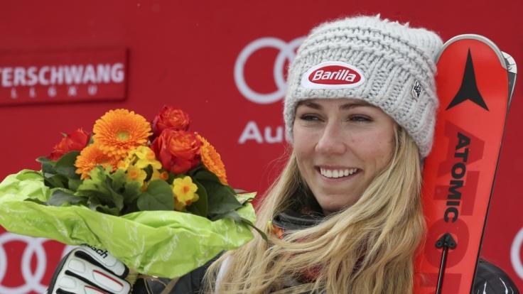 Gesamtweltcupsiegerin Mikaela Shiffrin hat im letzten Slalom der Saison ihren 43. Weltcup-Sieg geholt.