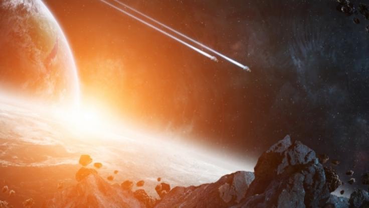 Wissenschaftler:innen untersuchten, was das SternensystemHR 8799 durcheinanderwirbeln könnte. (Symbolbild) (Foto)
