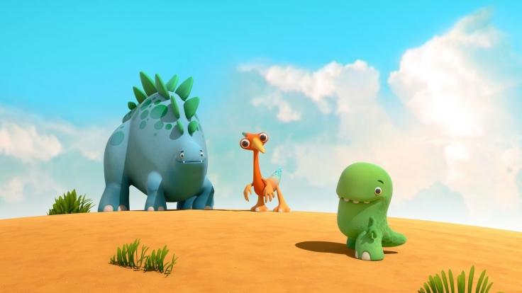 Dinotaps bei KiKA (Foto)