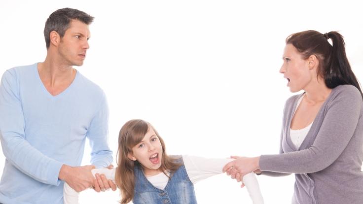 Die Eltern stritten seit Jahren um die gemeinsame Tochter. (Symbolbild)