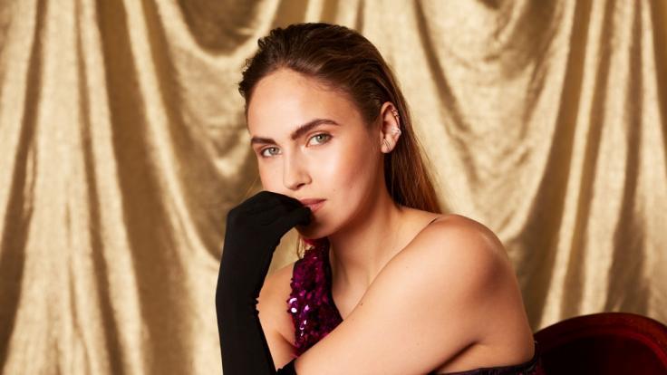 """Elena Carrière zog bei """"Showtime of my Life - Stars gegen Krebs"""" für den guten Zweck blank. (Foto)"""