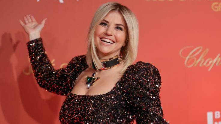 Beatrice Egli überzeugte ihre Fans mit sexy Argumenten davon, bei den Swiss Music Awards für sie zu stimmen (Foto)