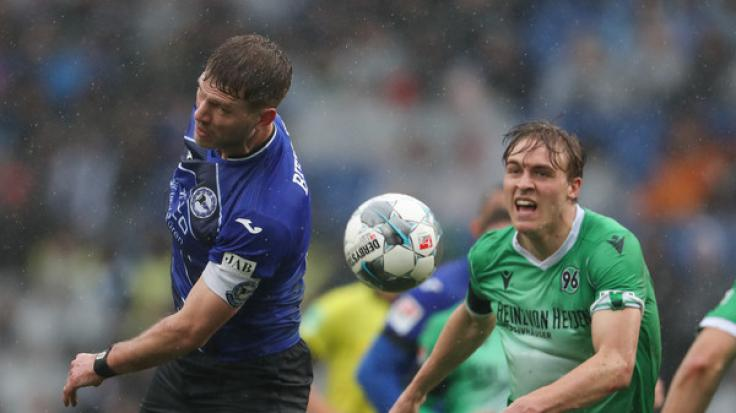 Timo Hübers von Hannover 96 hat sich mit dem Coronavirus infiziert.
