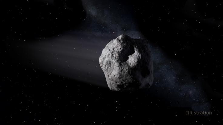 Bergbau auf Asteroiden könnte der Ressourcenknappheit auf der Erde entgegenwirken. (Foto)