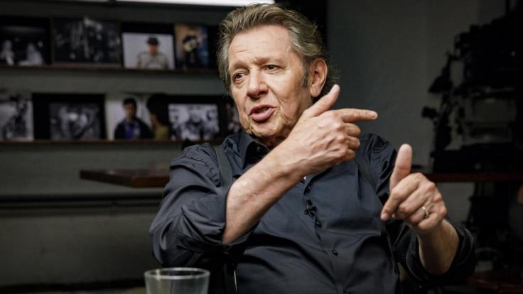 Jan Fedder spricht mit Reinhold Beckmann über seine Krebserkrankung. (Foto)