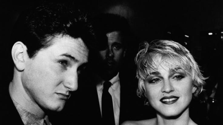 Sean Penn und Madonna (Foto)