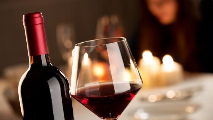 Auch Rotwein ist gut fürs Gehirn.