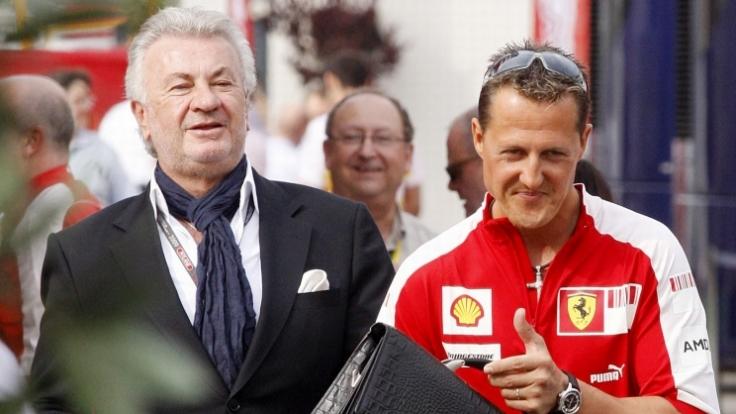 Michael Schumacher und Willi Weber waren einst ein erfolgreiches Gespann.