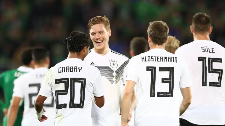 Das DFB-Team muss beim Freundschaftsspiel am 09.10.19 gegen Argentinien ran. (Foto)