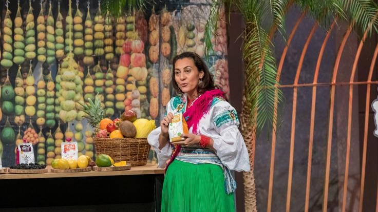 """Paulina Carrera mit Hilli Fruits in der Vox-Gründershow """"Die Höhle der Löwen"""" (Foto)"""