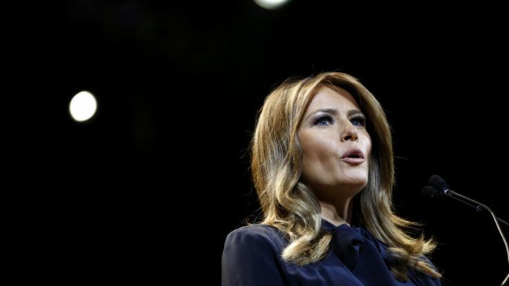 Melania Trump, die Ehefrau des ehemaligen US-Präsidenten Donald Trump, blieb ihren Angestellten im Weißen Haus nicht unbedingt positiv in Erinnerung (Foto)