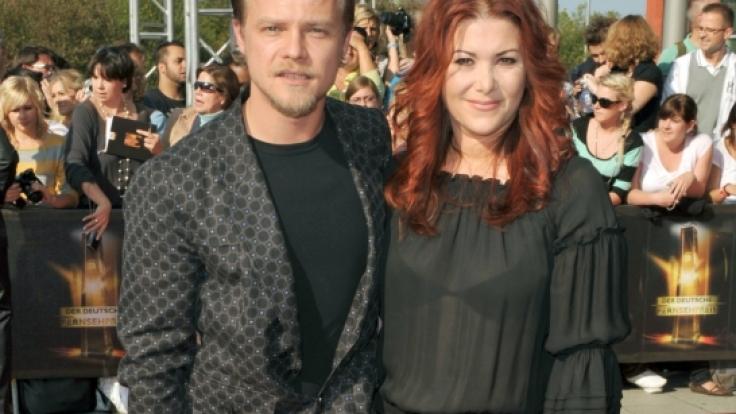 Schauspieler Matthias Koeberlin mit seiner Ehefrau Diana.