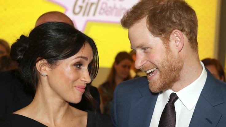 Meghan Markle und Prinz Harry geben sich am 19. Mai das Ja-Wort - und die Welt darf im TV mitfeiern. (Foto)