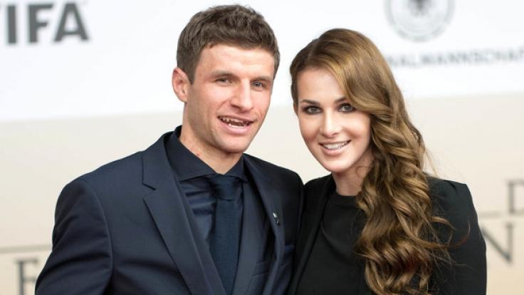 Thomas Müller und seine Lisa sind seit 2009 verheiratet. (Foto)