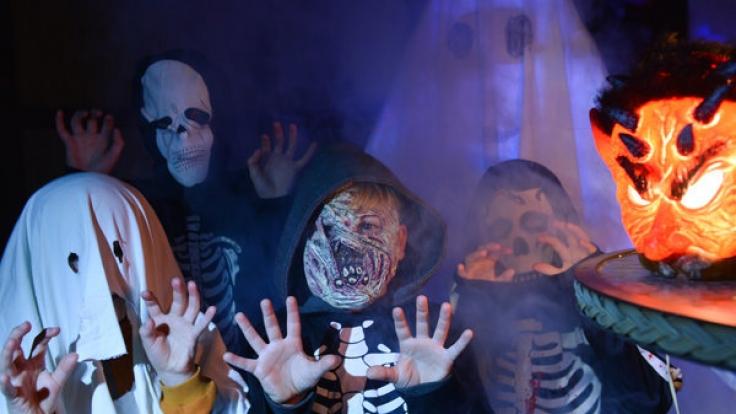 Für viele Kinder sind die Verkleidungen das größte Highlight an Halloween.