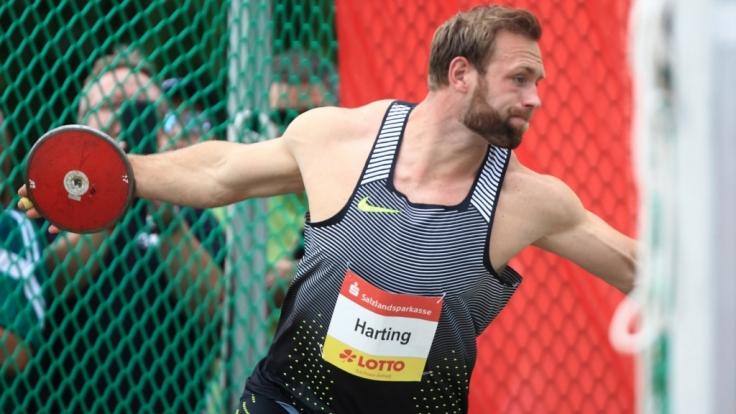 Diskuswerfer Robert Harting ist Teilnehmer bei den Olympischen Spielen 2016 in Rio.