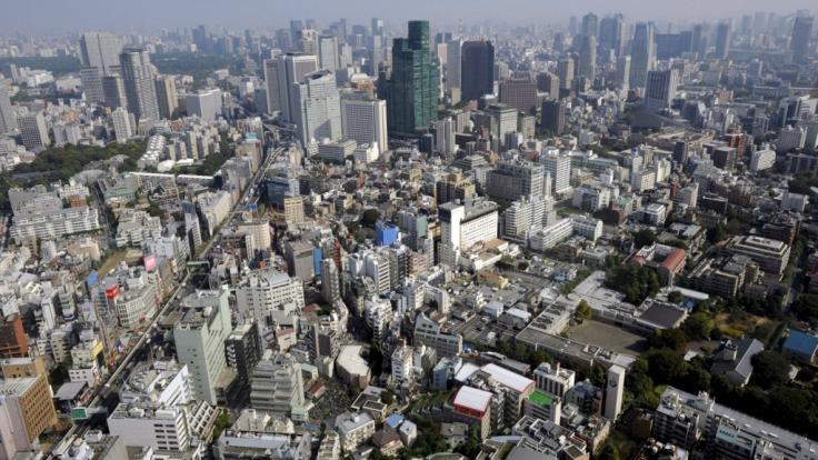 Tokio ist mit 37,5 Millionen Einwohnern die bislang größte Megastadt.