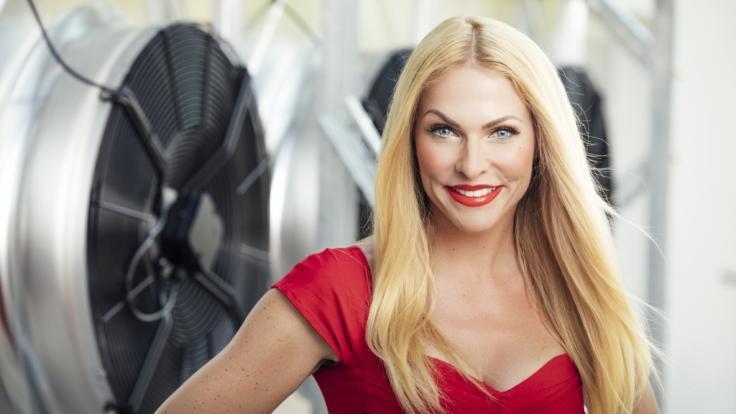 Bei Sonya Kraus gedenkt der alten TV-Zeiten. (Foto)