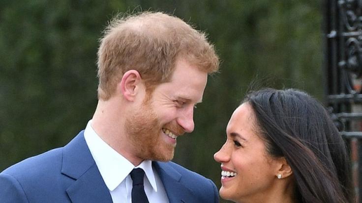 Prinz Harry und seine Verlobte Meghan Markle werden am 19. Mai 2018 heiraten. (Foto)