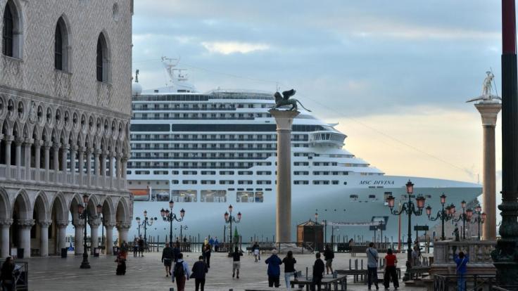 """An Bord des Kreuzfahrtschiffes """"MSC Divina"""" ist ein zwölf Jahre alter Junge auf einer Mittelmeerkreuzfahrt gestorben. (Foto)"""
