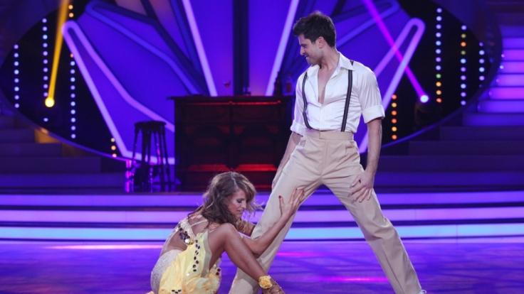 """Für Milos Vukovic ist """"Let's Dance"""" nun Geschichte. Er konnte die Jury nicht begeistern. (Foto)"""