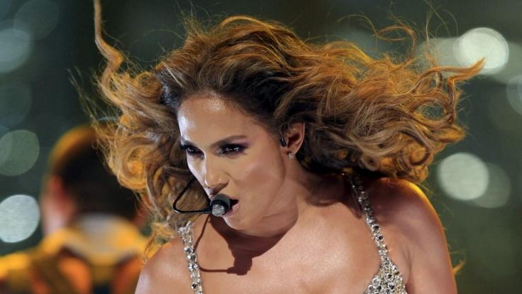 Ob Po oder Busen: Jennifer Lopez weiß, sich in Szene zu setzen.