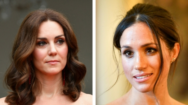 Konkurrentinnen? Kate Middleton und Meghan Markle. (Foto)