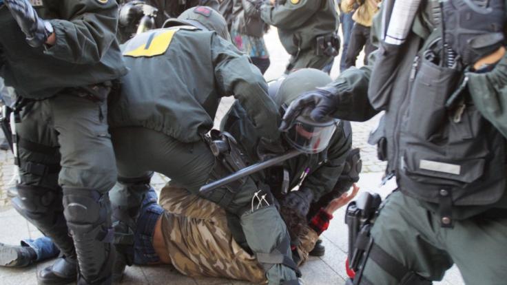 Im nordrhein-westfälischen Herne kam es zu einer Massenschlägerei zwischen Kurden und Türken, die von der Polizei aufgelöst werden musste (Symbolfoto).