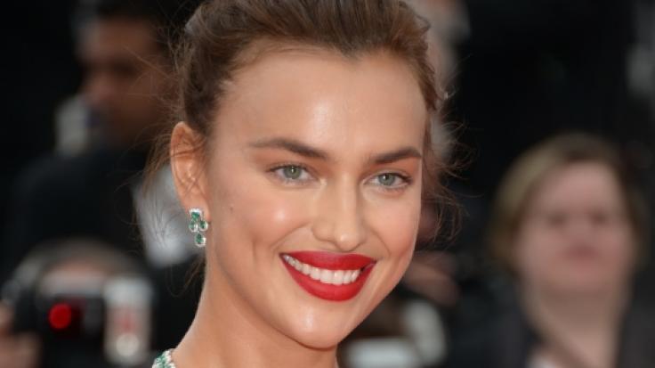 Supermodel Irina Shayk bei einer Filmpremiere in Cannes.
