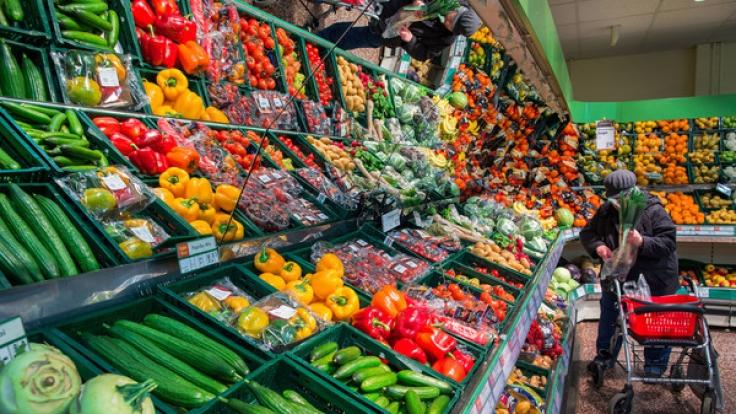 Gemüse ist aktuell so teuer, wie schon lange nicht mehr. (Foto)