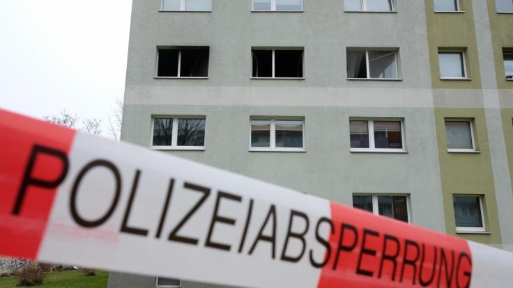 Bei dem Brand im sächsischen Grimma sind eine Achtjährige sowie deren Mutter ums Leben gekommen. (Foto)
