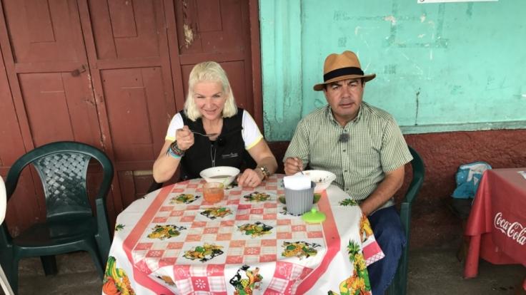 Carmen Hanken reist auf den Spuren Spuren ihres verstorbenen Mannes nach Südamerika. (Foto)
