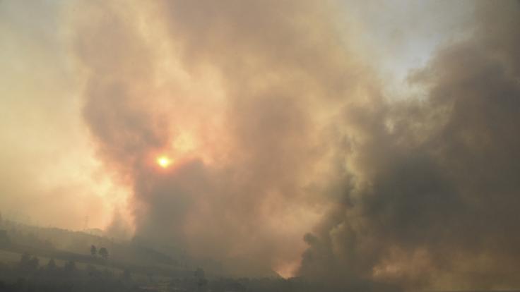 Durch die anhaltende Trockenheit können sich Waldbrände massiv ausbreiten. (Foto)