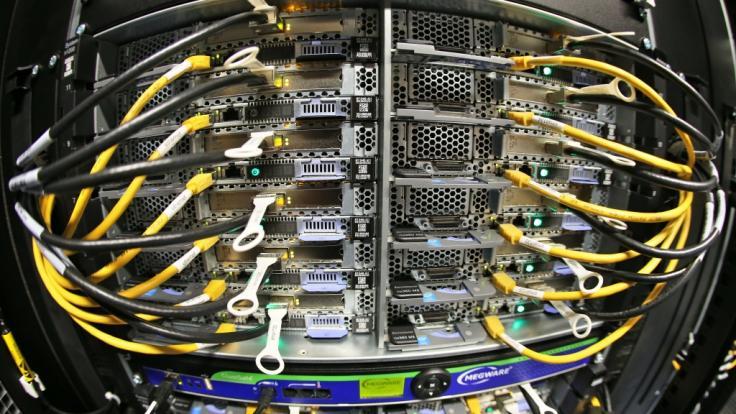 Der Computer.Entwickler IBM bringt einen Quantencomputer nach Deutschland. (Symbolbild) (Foto)