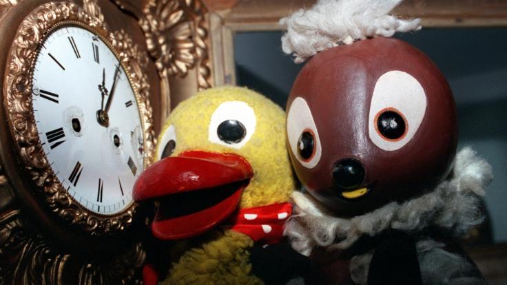"""Die beliebte """"Sandmännchen""""-Figur Schnatterinchen ist für immer verstummt: Puppenspielerin und Sprecherin Friedgard Kurze ist gestorben. (Foto)"""