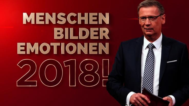 """Moderator Günther Jauch präsentiert den RTL-Jahresrückblick """"2018! Menschen, Bilder, Emotionen"""". (Foto)"""