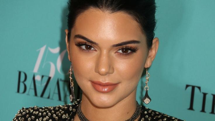 Kendall Jenner ließ ihre Nippel blitzen. (Foto)