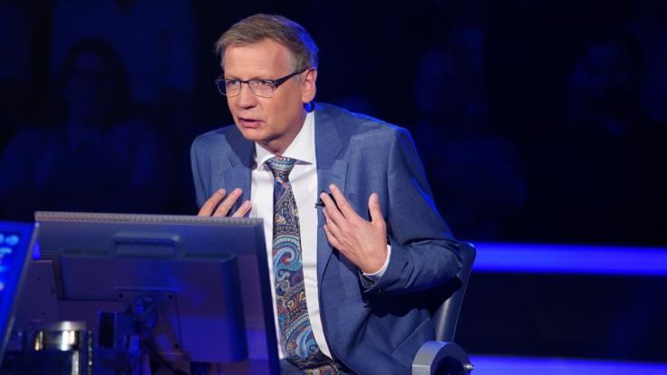 """Bei """"Wer wird Millionär?"""" kann sich Showmaster Günther Jauch bei manchem Kandidaten die Verwunderung nicht verkneifen. (Foto)"""