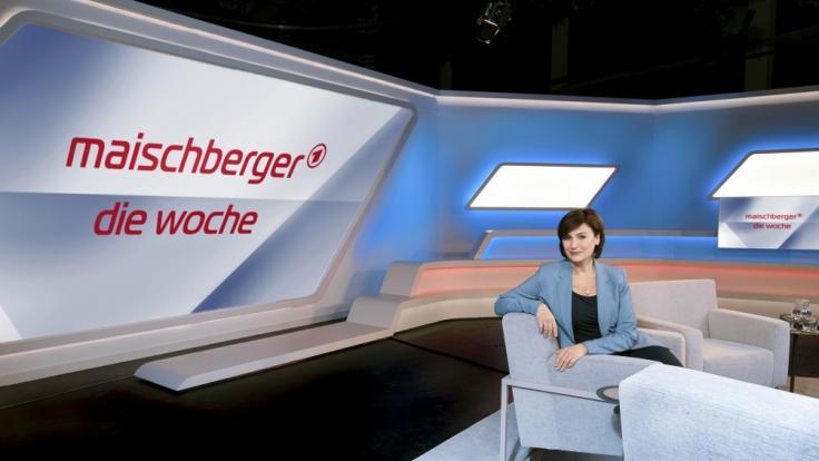 """Sandra Maischberger geht nach der Sommerpause 2021 am 4. August mit einer neuen Ausgabe von """"maischberger. die woche"""" im Ersten auf Sendung. (Foto)"""
